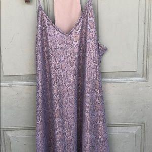 NWOT Caramela Snakeskin dress